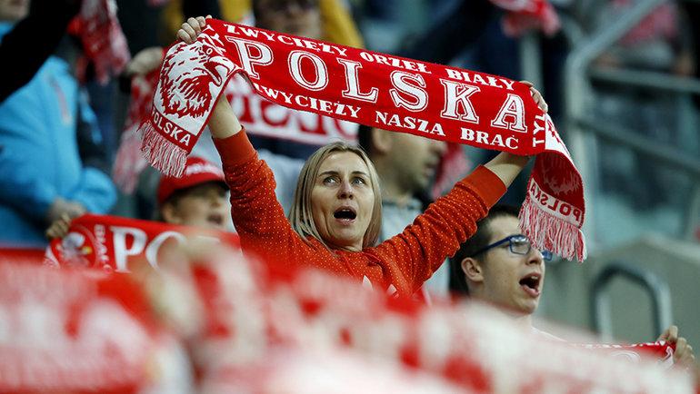 Польские болельщики. Фото Reuters