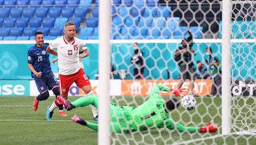 Щенсны стал первым вратарем вистории чемпионатов Европы, накоторого записан автогол