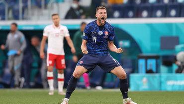 Шкриньяр назван лучшим игроком матча Польша— Словакия