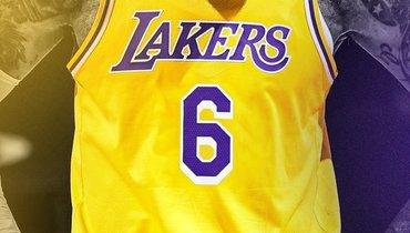 Леброн Джеймс вследующем сезоне будет играть под 6-м номером