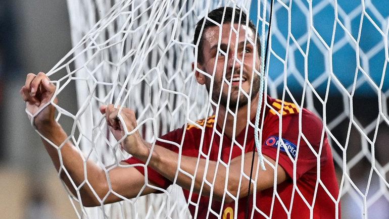 14июня. Севилья. Испания— Швеция— 0:0. Коке. Фото AFP