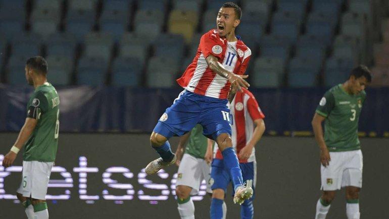 15июня. Кубок Америки. Парагвай— Боливия— 3:1. Фото AFP