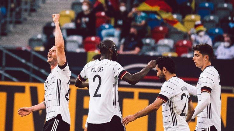 Сборная Германии сыграет против Франции наЕвро-2020. Фото twitter.com/DFB_Team