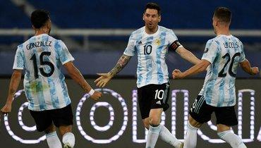 Аргентина ждала гола Месси соштрафного 1672 дня, нопоход Лео заКубком Америки начался сничьей