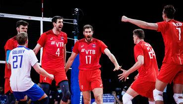Сборная России обыграла Сербию вЛиге наций.