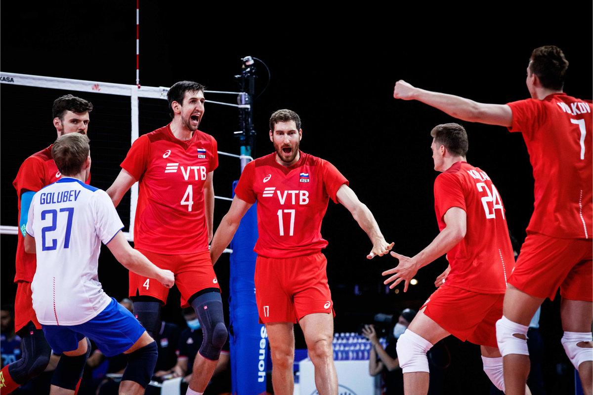 Россия начинает показывать зубы. Укоманды— красивая победа над чемпионами Европы