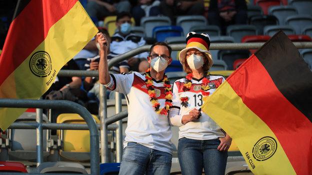 Болельщики сборной Германии. Фото Reuters