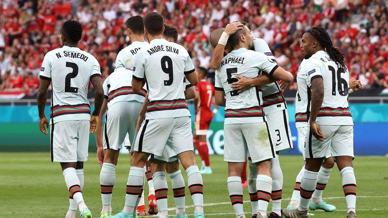 15июня. Будапешт. Венгрия— Португалия— 0:3. Фото Reuters