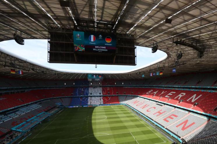 «Альянц-Арена» перед матчем. Фото сайт УЕФА