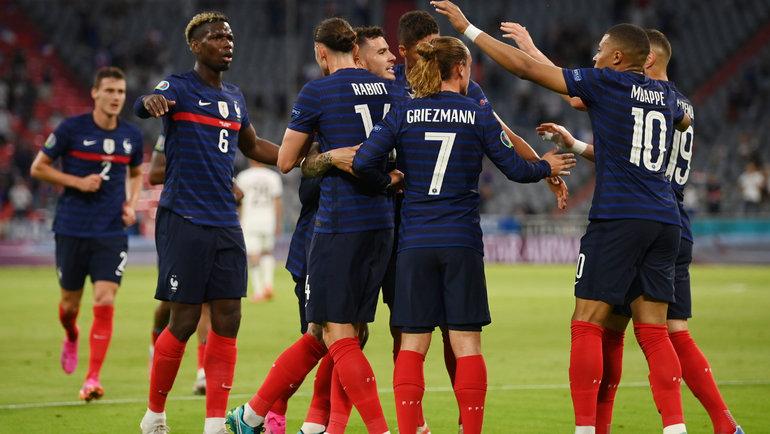 15июня. Франция— Германия— 1:0. Фото Reuters