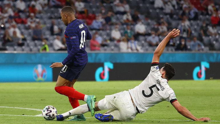 Франция— Германия— 1:0. Фото Twitter