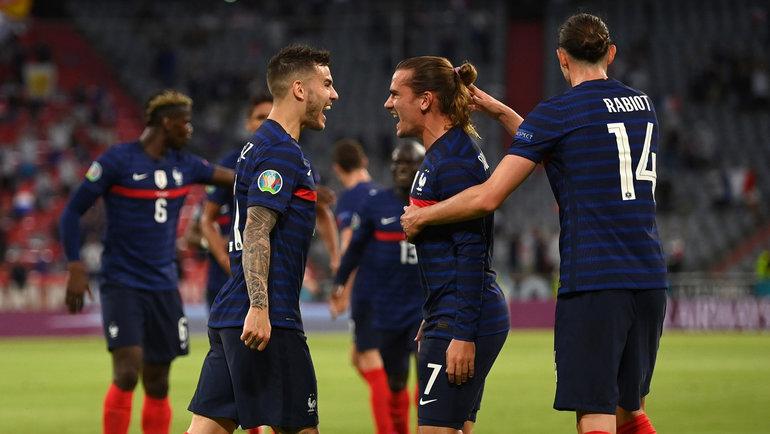 15июня. Франция— Германия— 1:0. Фото Twitter