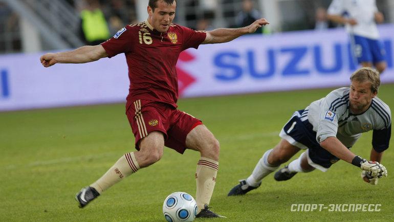 Россия— Финляндия: единственный мяч Черчесову, два автогола, феерия Аршавина иКержакова