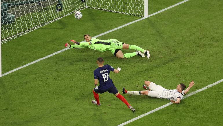 15июня. Мюнхен. Франция— Германия— 1:0. Фото AFP