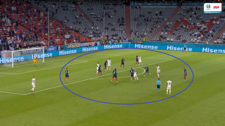 15июня. Мюнхен. Франция— Германия— 1:0.