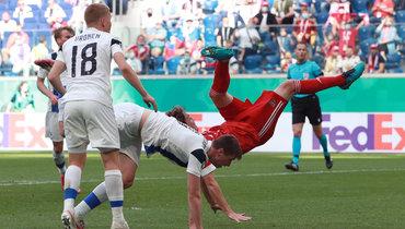 Что нужно России вматче сДанией, чтобы попасть вплей-офф? Все расклады Евро для команды Черчесова