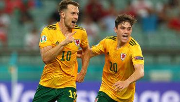 Рэмси— первый игрок сборной Уэльса, забивший надвух Евро подряд