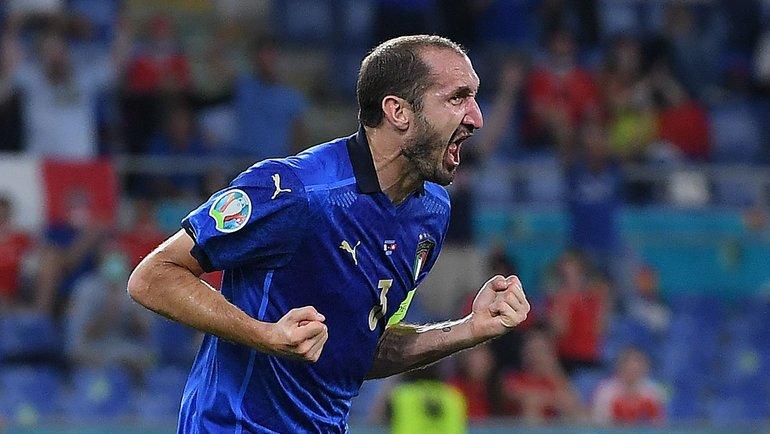 Джорджо Кьеллини. Фото AFP
