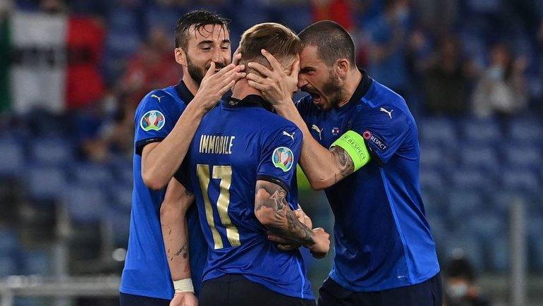 Эта Италия восхитительна! Второй раз подряд отгрузила трешку