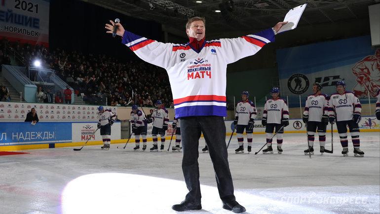 Дмитрий Губерниев. Фото Александр Федоров, «СЭ»