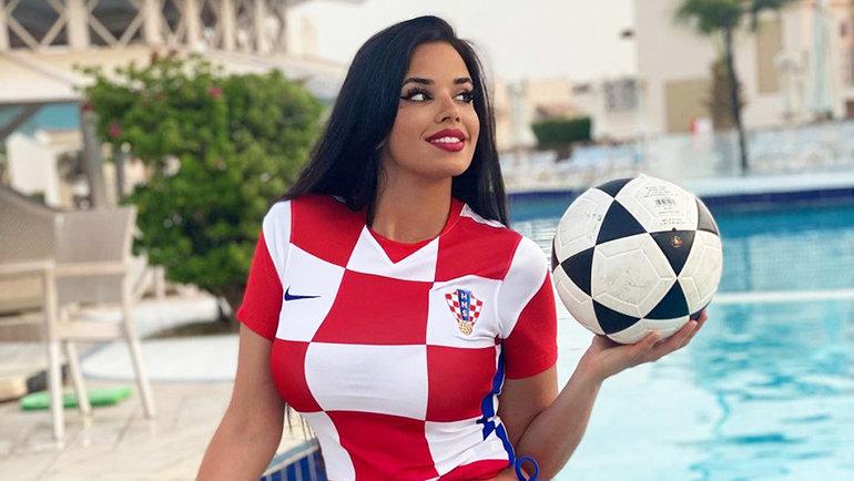 Болельщица сборной Хорватии. Фото Instagram