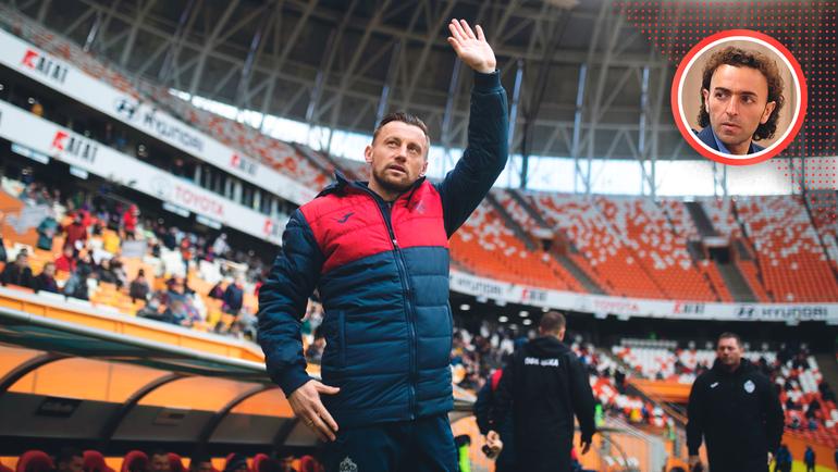 Ивица Олич проработал вЦСКА всего 83 дня. Фото Денис Тырин/ПФК ЦСКА