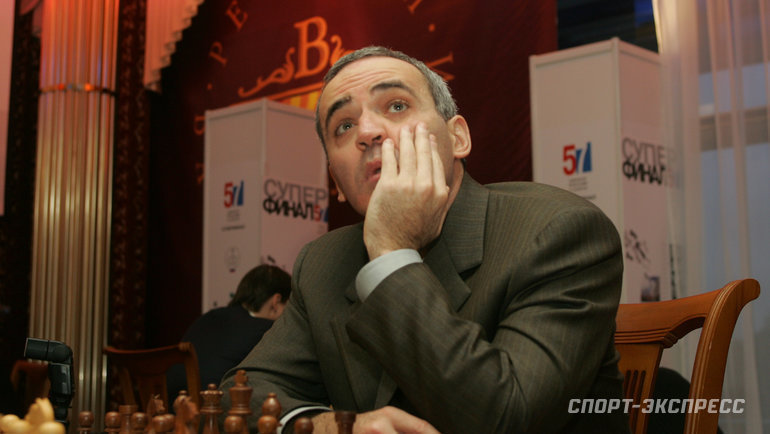 Гарри Каспаров. Фото Александр Вильф, «СЭ»