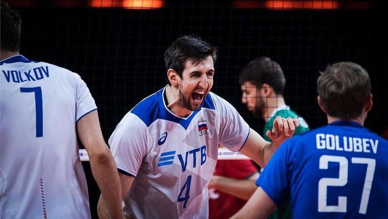 Россия победила Болгарию в Лиге наций. Фото Instagram