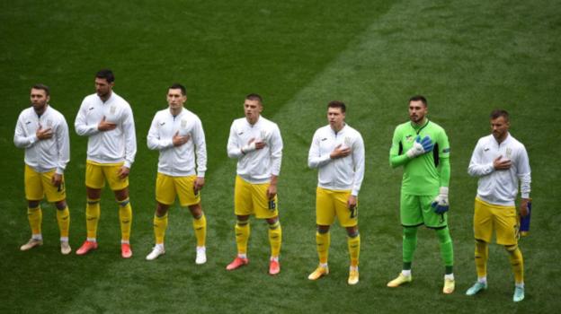 Сборная Украины. Фото сайт УЕФА