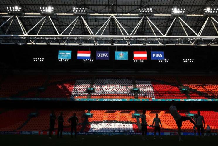 «Йохан Круифф Арена» вАмстердаме перед матчем. Фото сайт УЕФА
