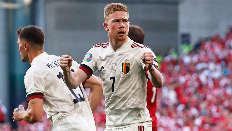 17июня. Копенгаген. Дания— Бельгия— 1:2. Кевин ДеБрейне.