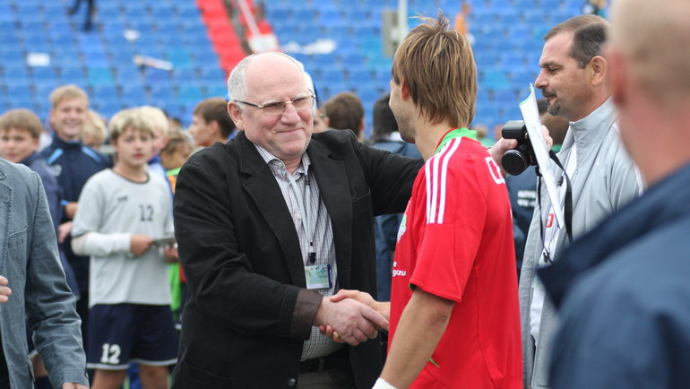 Валерий Баринов (слева). Фото Игорь Горшков