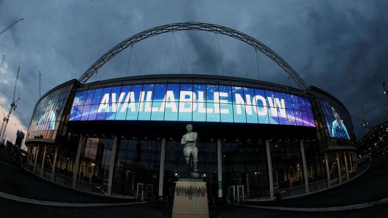 Стадион «Уэмбли» должен был принять финал Евро-2020. Фото Reuters