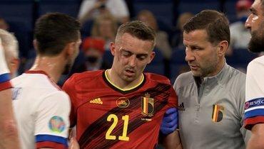 Футболист сборной Бельгии Кастань мог завершить карьеру после столкновения сКузяевым