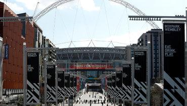 Стадион «Уэмбли» должен был принять финал Евро-2020.