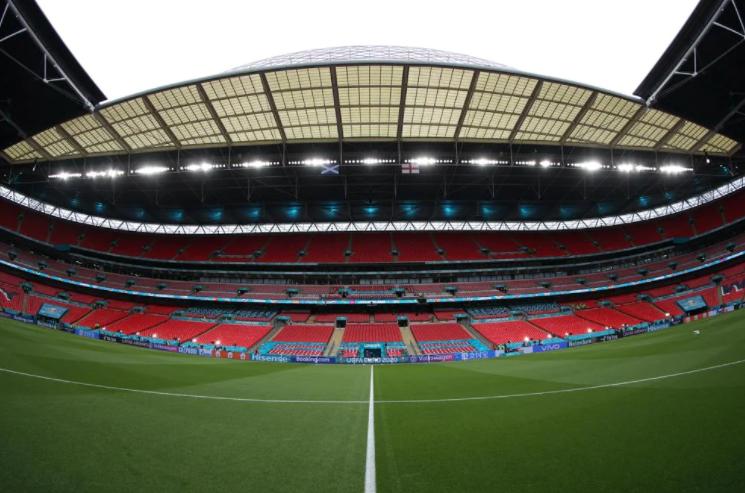 Стадион «Уэмбли» перед матчем. Фото сайт УЕФА
