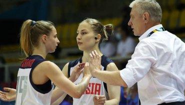 Баскетболистки сборной России выиграли уХорватии вматче чемпионата Европы