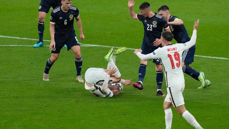 Англия— Шотландия— 0:0. Фото AFP
