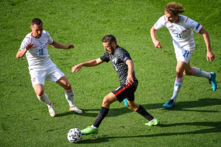 Никола Влашич иАлекс Крал. Фото сайт УЕФА