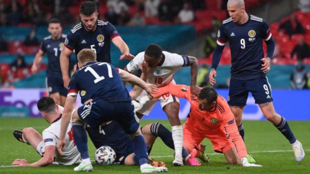 Англия— Шотландия— 0:0. Фото сайт УЕФА