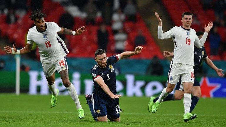 18июня. Лондон. Англия— Шотландия— 0:0. Две британские сборные разошлись миром. Фото AFP