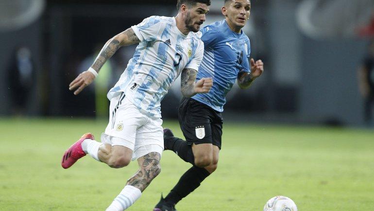 19июня. Аргентина— Уругвай— 1:0. Фото Twitter