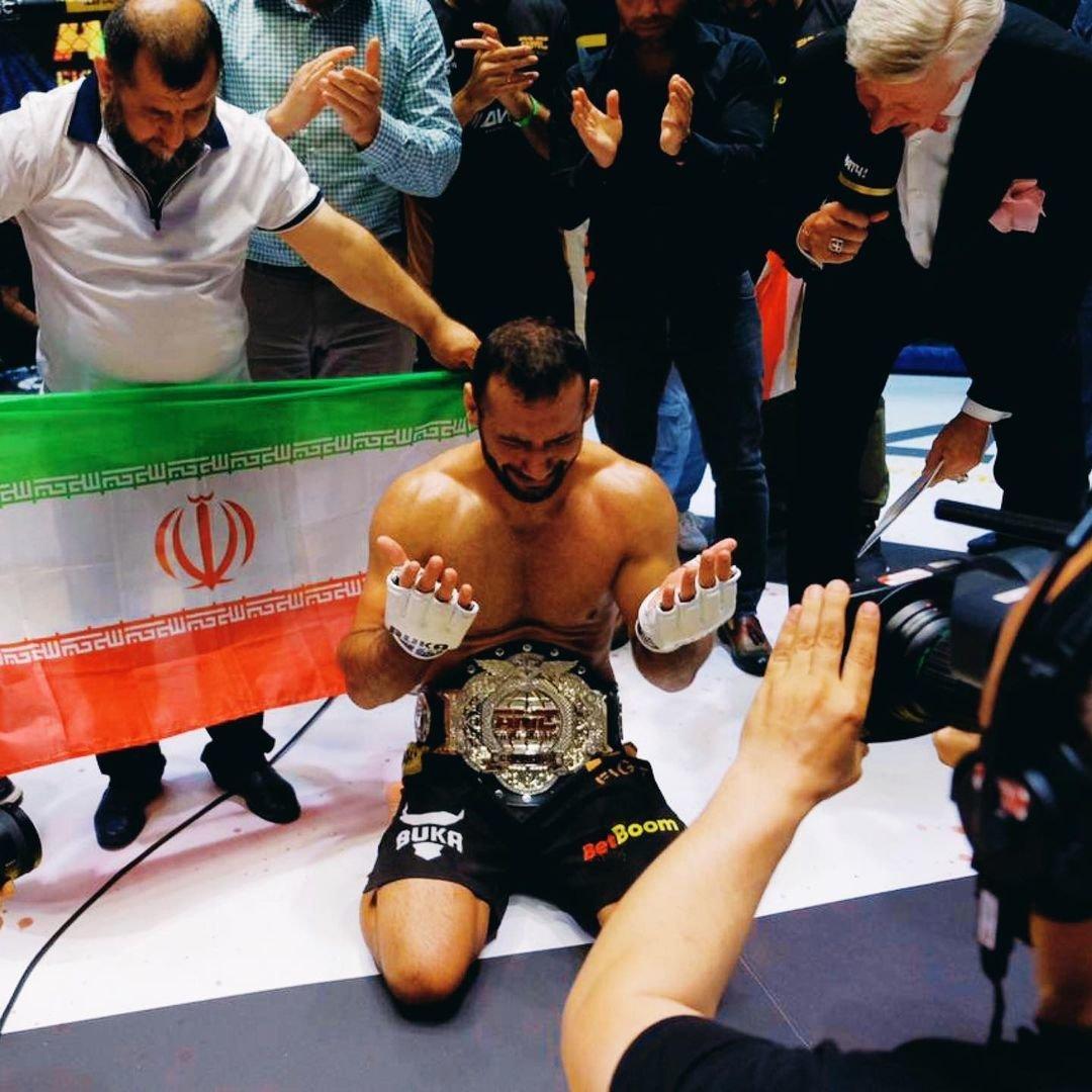 Сенсация вFight Nights— иранец был полным андердогом, нонокаутировал чемпиона заминуту