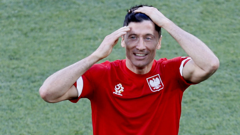 Роберт Левандовски. Фото Reuters