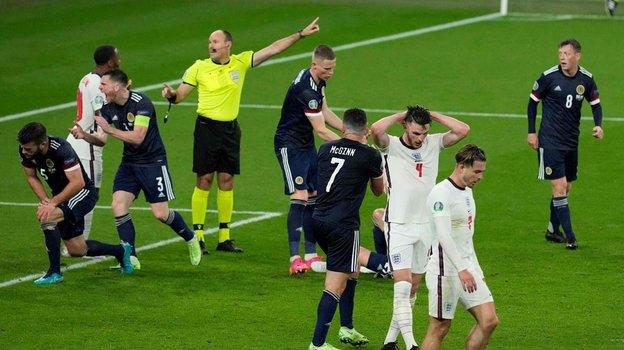 18июня. Англия— Шотландия 0:0. Фото AFP
