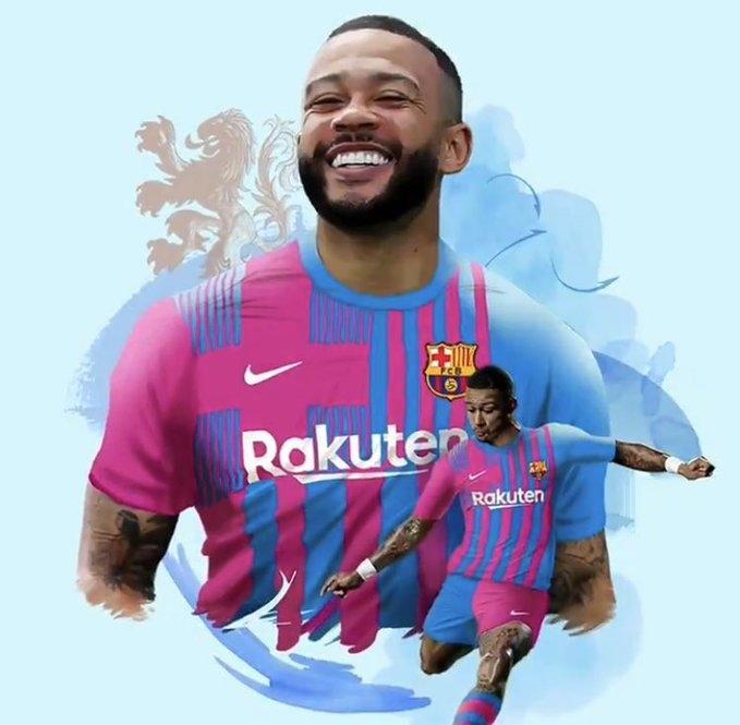 Мемфис Депай. Фото ФК «Барселона».