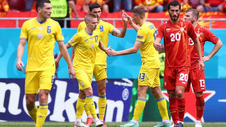 Сборная Украины сыграет против Австрии наЕвро-2020. Фото AFP