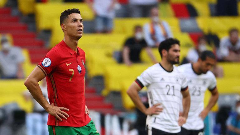 19июня. Португалия— Германия— 2:4. Криштиану Роналду после матча. Фото Reuters