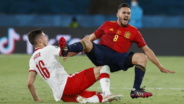 Испания— Польша— 1:1. Фото Reuters