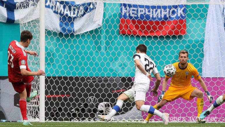 Финляндия пока третья команда вгруппе России. Фото Александр Федоров, «СЭ» / Canon EOS-1D X Mark II